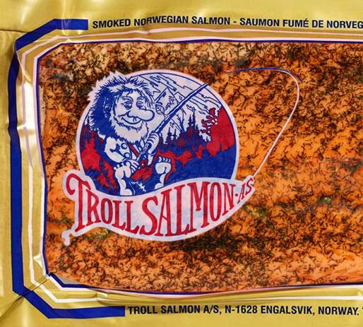 salmone norvegese troll